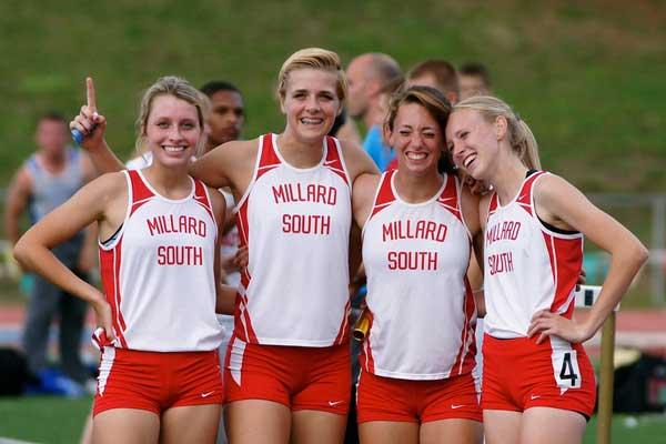Millard-South-Girls-1600-Relay-Team-photo