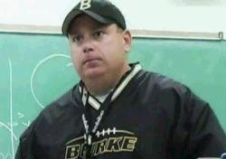Omaha Burke head football coach Paul Limongi