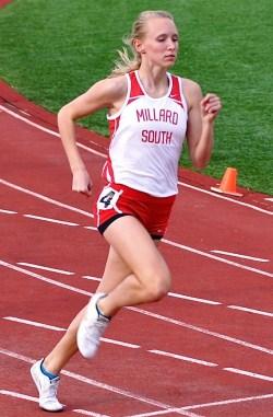 Clara Nichols Top Nebraska HS Sprinter