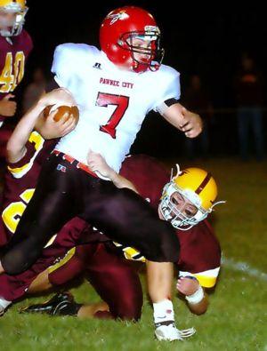 Garret Borcher Pawnee City Football