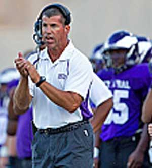 Coach Jay Ball, Omaha Central Eagles image