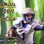 Bobby Mills 1000 Yard Club — 2011 Season
