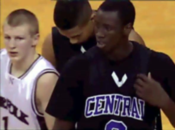 Stars in the Making photo of Nebraska high school basketball players Akoy Agau, Jalen Bradley, Darian Barrientos-Jackson