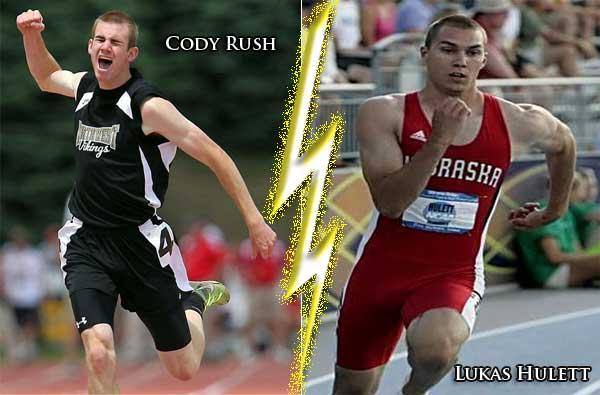 Cody Rush-Chases Lukas Hulett