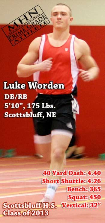Luke-Worden, RB/DB, Scottsbluff H.S., NE Football image