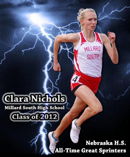 Clara-Nichols--All-Time-Great-Nebraska High School-Athletes poster image