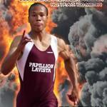 Kenzo Cotton Blazes new 200 Meter PR in USATF National Junior Olympic Win
