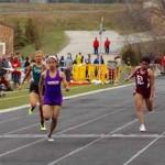 Millard South Invite 2013 Notes: Freshman Sprinter Chloe Akin-Otiko Burns Girls Season's Best 100m